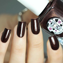 AVAILABLE AT GIRLY BITS COSMETICS www.girlybitscosmetics.com Warm Spiced Sangria (Lovely Notes From Spain Duo) by Moo Moo's Signatures | Swatch courtesy of @laublm