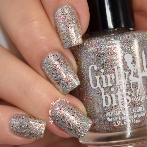 Girly Bits Cosmetics Slay Belle (December 2017 CoTM) | Swatch courtesy of Manicure Manifesto