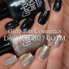 Girly Bits Cosmetics Slay Belle and Fir Realz  (December 2017 CoTM) | Swatch courtesy of Manicure Manifesto