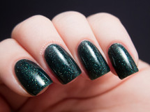 GIRLY BITS COSMETICS Fathomless (Fan Favourites Collection)   Swatch courtesy of Chalkboard Nails