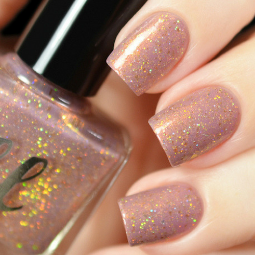 AVAILABLE AT GIRLY BITS COSMETICS www.girlybitscosmetics.com Faerie Bites (Labyrinth Collection) by Femme Fatale | Swatch courtesy of Tanya_Wish