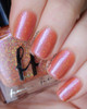 AVAILABLE AT GIRLY BITS COSMETICS www.girlybitscosmetics.com Poisoned Peach (Labyrinth Collection) by Femme Fatale | Swatch courtesy of @emilydemolly