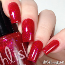 AVAILABLE AT GIRLY BITS COSMETICS www.girlybitscosmetics.com Nine Ladies Dancing (12 Days of Christmas Collection) by Pahlish | Swatch  provided by @cdbnails143