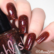 AVAILABLE AT GIRLY BITS COSMETICS www.girlybitscosmetics.com Six Geese a Laying (12 Days of Christmas Collection) by Pahlish | Swatch  provided by @cdbnails143