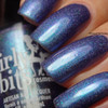 Girly Bits Cosmetics Blue Year's Resolution (January 2018 CoTM) | Swatch courtesy of Intense Polish Therapy