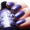 Girly Bits Cosmetics Blue Year's Resolution (January 2018 CoTM) | Swatch courtesy of xoxo, Jen