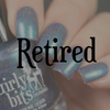 Girly Bits Cosmetics Blue Year's Resolution (January 2018 CoTM) | Swatch courtesy of Delishious Nails