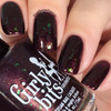 Girly Bits Cosmetics Dark Reflection (February 2018 CoTM)   Swatch courtesy of Nail Experiments
