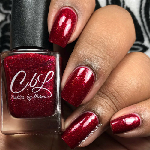AVAILABLE AT GIRLY BITS COSMETICS www.girlybitscosmetics.com CbL PoTM - Feb 2018 - What's Love Got to Do With It by Colors by Llarowe   Swatch courtesy of @queenofnails83