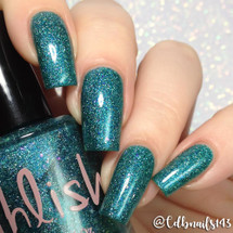 AVAILABLE AT GIRLY BITS COSMETICS www.girlybitscosmetics.com Ace of Swords (The Arcana Collection) by Pahlish | Swatch  provided by @cdbnails143