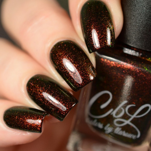 AVAILABLE AT GIRLY BITS COSMETICS www.girlybitscosmetics.com Snakeskin Boots (Wild & Mild Collection) by Colors by Llarowe | Swatch courtesy of Delishious Nails