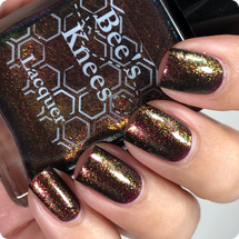 AVAILABLE AT GIRLY BITS COSMETICS www.girlybitscosmetics.com I Need Friends (Justice League Collection) by Bee's Knees Lacquer   Photo credit: @nailmedaily