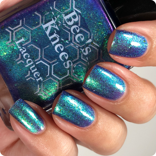 AVAILABLE AT GIRLY BITS COSMETICS www.girlybitscosmetics.com NaCl (Prototypes Collection) by Bee's Knees Lacquer | Photo credit: @nailmedaily