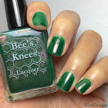 AVAILABLE AT GIRLY BITS COSMETICS www.girlybitscosmetics.com Dart (Stranger Things Collection) by Bee's Knees Lacquer | Photo credit: @stuckonlacquer