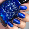 AVAILABLE AT GIRLY BITS COSMETICS www.girlybitscosmetics.com The Upside Down (Stranger Things Collection) by Bee's Knees Lacquer   Photo credit: @nailmedaily