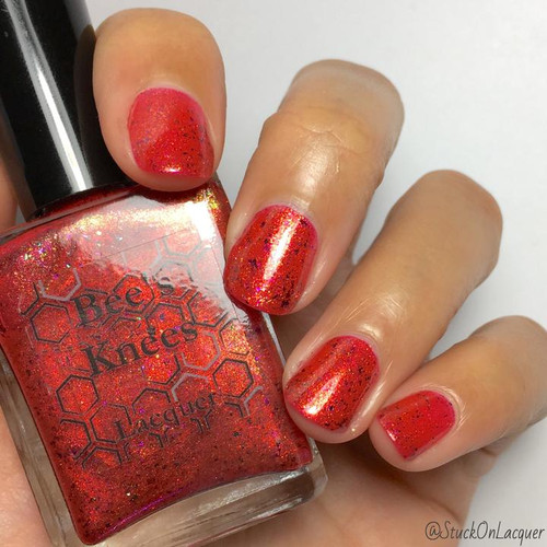 AVAILABLE AT GIRLY BITS COSMETICS www.girlybitscosmetics.com Fine Swine (Witch, Please! Collection) by Bee's Knees Lacquer | Photo credit: @stuckonlacquer
