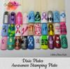 Awareness Mini Plate - Dixie Plates | AVAILABLE AT GIRLY BITS COSMETICS www.girlybitscosmetics.com Swatch courtesy of @glittershinenails