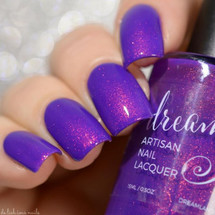 AVAILABLE AT GIRLY BITS COSMETICS www.girlybitscosmetics.com The Search is Over (Power Ballads 2017 Collection) by Dreamland Lacquer | Photo credit: Delishious Nails