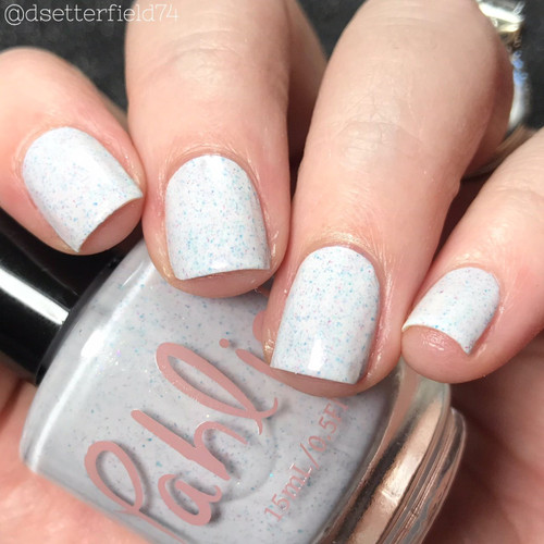 AVAILABLE AT GIRLY BITS COSMETICS www.girlybitscosmetics.com Dust Bunny (Spring 2018 Collection) by Pahlish | Swatch  provided by Snacks on Rotation