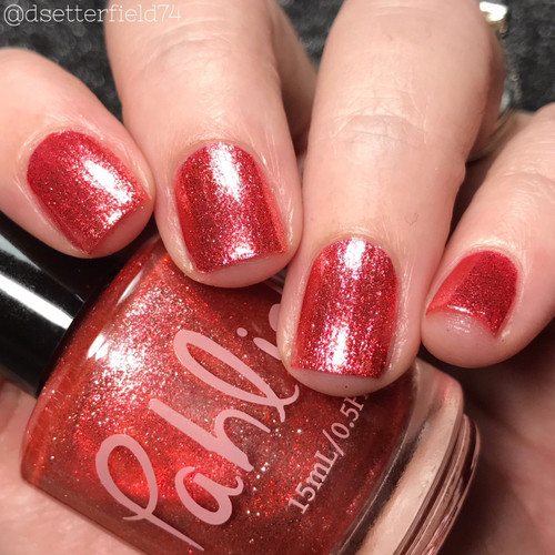 AVAILABLE AT GIRLY BITS COSMETICS www.girlybitscosmetics.com Honeysuckle (Spring 2018 Collection) by Pahlish   Swatch  provided by Snacks on Rotation