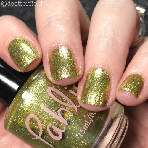 AVAILABLE AT GIRLY BITS COSMETICS www.girlybitscosmetics.com English Ivy (Spring 2018 Collection) by Pahlish | Swatch  provided by Snacks on Rotation