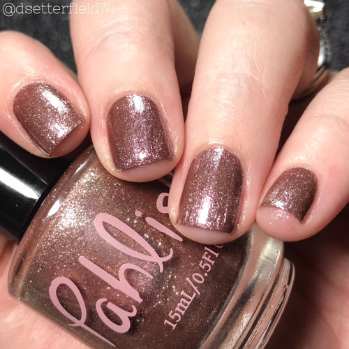 AVAILABLE AT GIRLY BITS COSMETICS www.girlybitscosmetics.com Ashwood (Spring 2018 Collection) by Pahlish | Swatch  provided by Snacks on Rotation