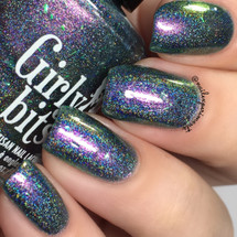 Girly Bits Cosmetics MARCH 2018 CoTM I Shift You Not | Photo credit: Nail Experiments
