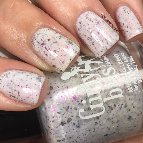 Girly Bits Cosmetics NAME TBA Bouquet Corral | Swatch courtesy of The Dot Couture