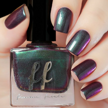Maleficent (Enchanted Fables Villains Collection) by Femme Fatale AVAILABLE AT GIRLY BITS COSMETICS www.girlybitscosmetics.com | Swatch courtesy of de briz