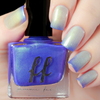 Blue Beard (Enchanted Fables Villains Collection) by Femme Fatale AVAILABLE AT GIRLY BITS COSMETICS www.girlybitscosmetics.com | Swatch courtesy of de briz