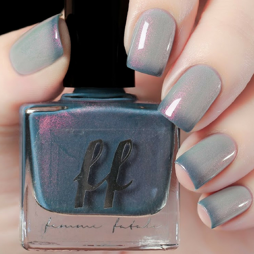 Rumpelstiltskin (Enchanted Fables Villains Collection) by Femme Fatale AVAILABLE AT GIRLY BITS COSMETICS www.girlybitscosmetics.com | Swatch courtesy of de briz