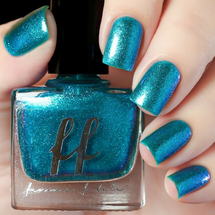 Hades (Enchanted Fables Villains Collection) by Femme Fatale AVAILABLE AT GIRLY BITS COSMETICS www.girlybitscosmetics.com | Swatch courtesy of de briz