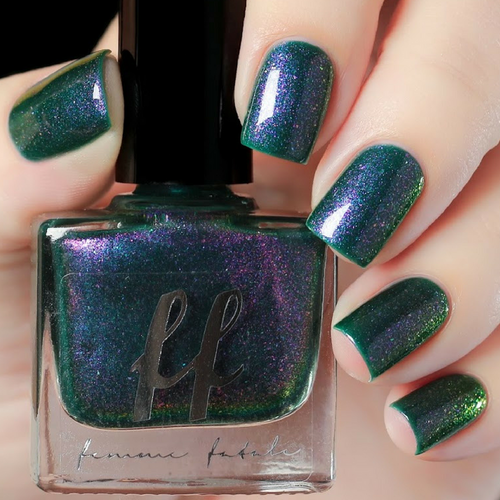 Pied Piper (Enchanted Fables Villains Collection) by Femme Fatale AVAILABLE AT GIRLY BITS COSMETICS www.girlybitscosmetics.com   Swatch courtesy of de briz