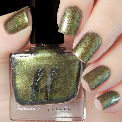The Mouse King (Enchanted Fables Villains Collection) by Femme Fatale AVAILABLE AT GIRLY BITS COSMETICS www.girlybitscosmetics.com | Swatch courtesy of de briz