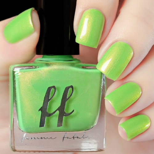 Sir Hiss (Enchanted Fables Villains Collection) by Femme Fatale AVAILABLE AT GIRLY BITS COSMETICS www.girlybitscosmetics.com | Swatch courtesy of de briz
