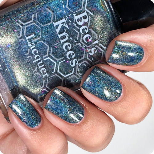 AVAILABLE AT GIRLY BITS COSMETICS www.girlybitscosmetics.com V is For Vodka (Monthly Colours Collection) by Bee's Knees Lacquer | Photo credit: @nailmedaily