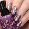 AVAILABLE AT GIRLY BITS COSMETICS www.girlybitscosmetics.com Tempest Shadow (Ponyville Collection) by Pahlish | Swatch  provided by Nail Polish OCD