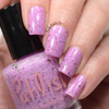 AVAILABLE AT GIRLY BITS COSMETICS www.girlybitscosmetics.com Fluttershy (Ponyville Collection) by Pahlish   Swatch  provided by Nail Polish OCD