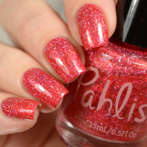 AVAILABLE AT GIRLY BITS COSMETICS www.girlybitscosmetics.com Cactus Rose (Desert Bloom Duo) by Pahlish | Swatch  provided by Delishious Nails