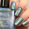 AVAILABLE AT GIRLY BITS COSMETICS www.girlybitscosmetics.com The Archangel (Arcana Chronicles Collection) by Bee's Knees Lacquer | Photo credit: nails_by_courtney.s