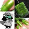 AVAILABLE AT GIRLY BITS COSMETICS www.girlybitscosmetics.com Murky Dismal (Rainbow Brite Collection) by Bee's Knees Lacquer | Photo credit: Polish and Paws