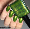 AVAILABLE AT GIRLY BITS COSMETICS www.girlybitscosmetics.com Murky Dismal (Rainbow Brite Collection) by Bee's Knees Lacquer | Photo credit: buffnails80