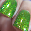 AVAILABLE AT GIRLY BITS COSMETICS www.girlybitscosmetics.com Murky Dismal (Rainbow Brite Collection) by Bee's Knees Lacquer | Photo credit: nailmedaily