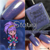 AVAILABLE AT GIRLY BITS COSMETICS www.girlybitscosmetics.com Stormy (Rainbow Brite Collection) by Bee's Knees Lacquer | Photo credit: Polish and Paws