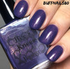 AVAILABLE AT GIRLY BITS COSMETICS www.girlybitscosmetics.com Stormy (Rainbow Brite Collection) by Bee's Knees Lacquer | Photo credit: buffnails80