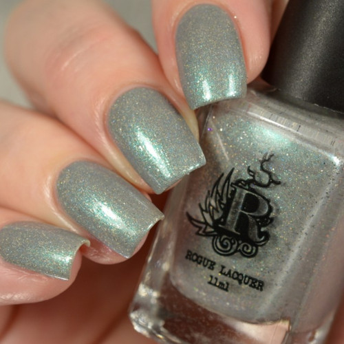 Blowing Off Steam (Spring Punk Collection) by Rogue Lacquer available at Girly Bits Cosmetics www.girlybitscosmetics.com  | Photo courtesy of Delishious Nails