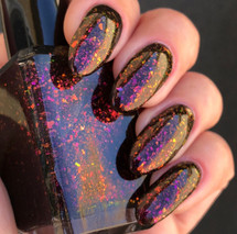 Summer Goth by Shleee Polish available at Girly Bits Cosmetics www.girlybitscosmetics.com  | Photo courtesy of IG@shleeepolish