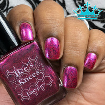 AVAILABLE AT GIRLY BITS COSMETICS www.girlybitscosmetics.com The Rockies (Mothly Colours Collection) by Bee's Knees Lacquer | Photo credit: Queen of Nail 83