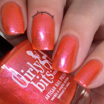 Girly Bits Cosmetics Summer Crush (May 2018 CoTM) | Photo credit: Nail Experiments