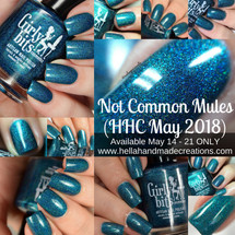 Not Common Mules (HHC May 2018) by Girly Bits Cosmetics